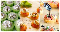 15 recettes d'amuse-bouche faciles qui vont épater vos invités Tapas, Finger Sandwiches, Hors D'oeuvres, Foie Gras, Tzatziki, Canapes, Yummy Appetizers, Finger Foods, Sushi