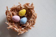 homemade easter egg nests