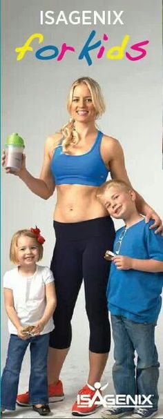 Isagenix is NOT just for weight loss! Isagenix provides you with ALL of the vitamins and nutrients the body needs to THRIVE, making it perfect for growing kids!