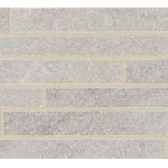Urbanite Concrete Stratus Listello Ceramic & Porcelain Listello Tile.