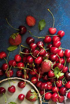 Cherry and Coconut Tres Leche Cake  | The White Ramekins