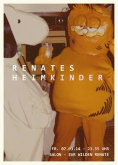 Renates Heimkinder | Salon zur Wilden Renate | Berlin | https://beatguide.me/berlin/event/salon-zur-wilden-renate-renates-heimkinder-20140307