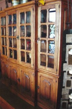 Amish Rustic Hickory Hutch Log Cabin Dining Furniture Lodge China