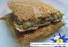 Diétás villám szendvics   NOSALTY – receptek képekkel Healthy Nutrition, Nutrition Tips, Hamburger, Sandwiches, Clean Eating, Food And Drink, Gluten, Vegan, Fitness