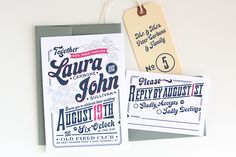 love this suite from Dapper Paper