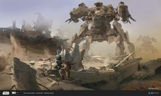ArtStation - ILM Art Department Challenge THE JOB (Work Sample), Bohao Wang