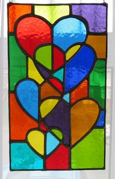 Faux Stained Glass, Stained Glass Designs, Stained Glass Projects, Stained Glass Patterns, Glass Painting Patterns, Suncatcher, Cubism Art, Art Drawings For Kids, Window Art