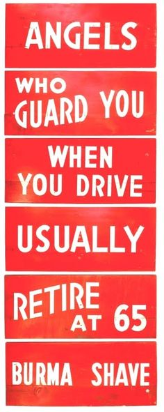 1950s Burma Shave Signs - American Roadway History - News - Bubblews  Bubblews is new they say  Arvin's vision is the way  He wants to lead all Social sites  I think he'll do it By all rights  Bubblews