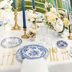 All I can say is wow the French blue wedding Of @margoandme in winter issue of @martha_weddings