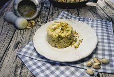 Tre cereali zucchine platessa e pistacchi