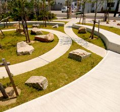 """The term """"the everyday"""" has started in the neighborhood scale, having a community park for the public"""