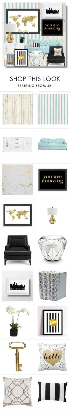 """""""He's waiting for you"""" by childofgod-97 ❤ liked on Polyvore featuring interior, interiors, interior design, home, home decor, interior decorating, NLXL, Christian Lacroix, Jonathan Adler and Kate Spade"""