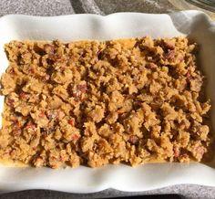 Terry's Sweet Potato Casserole ready to bake
