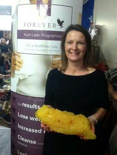 This is 5 pounds of fat! You can lose this and a lot more on our simple Nutri-lean weight management programme!