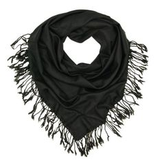 Premium Oversize Large Solid Color Soft Square Scarf – Different Colors Available, Black Different Colors, Vibrant Colors, New Trainers, Fashion Articles, Square Scarf, Scarf Styles, Scarves, Lady, My Style