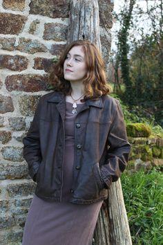 5b32cbb1ef02 Unisex Vintage Camaieu Leather Jacket by Runestoneco on Etsy Vintage  Clothing, Vintage Outfits, Leather