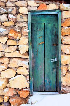 Rock Wall Door