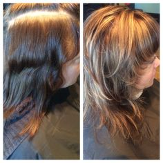 Drab to fab cut and color! Look even better as you age!!#hair#kayshairr