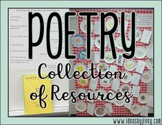 Check out this collection of poetry and figurative language resources gathered by Ideas by Jivey - most of them free ideas and activities!