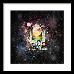 A Meter's Dream Framed Print by Josephus Bartin