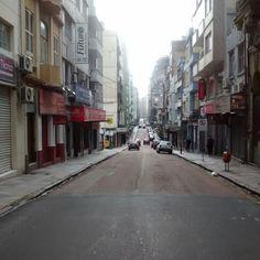 Rua Riachuelo em Porto Alegre, RS