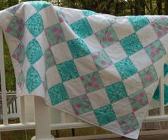 My Full Moon Lagoon Quilt for sale at my etsy shop PrettyinthePort quilts.....