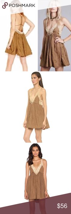 NWOT Free People Breathless Martini Dress XS/S Oh my!!!! So lovely! You will be ready to rock Summer with this perfect dress. Wear as it or pair with a cute bralette. Tag is XS but could also work as a S. Excellent condition. Free People Dresses Mini