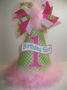 Personalized Lime Green & Hot Pink Polka by DoodlesDotsnDimples, $12.99