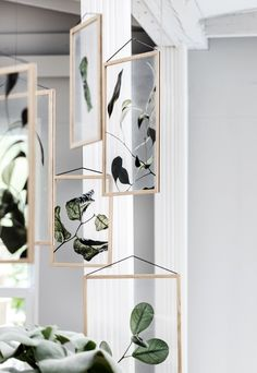 'Floating Leaves' print series by Moebe, Paper Collective and Norm Architects | New furniture & homeware finds - September 2017 | These Four Walls blog