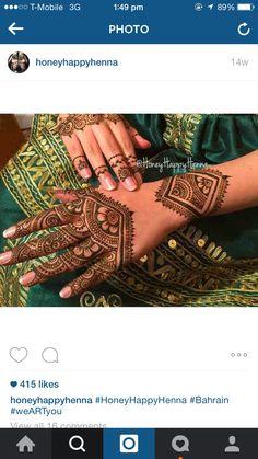 Beautiful henna by honey happy henna Indian Henna Designs, Mehndi Designs, Cool Henna, Arabic Henna, Design Inspiration, Design Ideas, Hennas, Kestrel, Henna Patterns