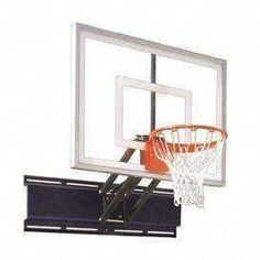 First Team Uni Champ Turbo Adjustable Wall Mount Basketball Hoop 54 inch Tempered Glass from NJ Swingsets Usc Basketball, Indoor Basketball Hoop, Lifetime Basketball Hoop, Xavier Basketball, Portable Basketball Hoop, Fantasy Basketball, Basketball Backboard, Basketball Shoes For Men, Basketball Systems