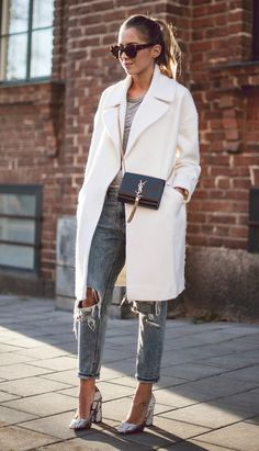 Look casaco branco
