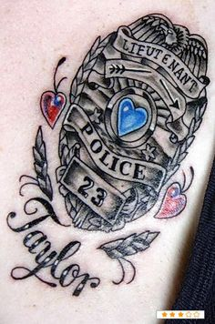 cops on pinterest police tattoo police and police officer. Black Bedroom Furniture Sets. Home Design Ideas