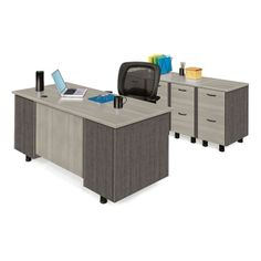 Computer Desk with CPU Cabinet - 15260 and more Office Desks