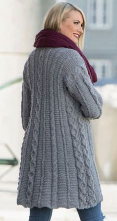 Long-Cardigan-with-Cables-and-Textures