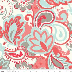 FINALLY found my main fabric for baby steel's nursery!!!!   French Verona Fabric Rouge from Riley Blake Designs