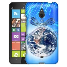 Nokia Lumia 1320 Christmas Earth Ornament Slim Case