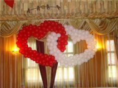 Decoración de bodas con globos Balloons And More, Centerpieces, Table Decorations, Projects To Try, Anniversary, My Style, Party, Wedding, Balloon Ideas