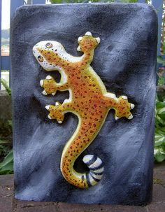 Gecko, 3D-Ziel für Bogenschützen aus Ethafoam 400, Bogenschießen