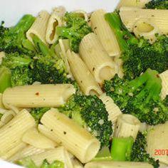 Bertucci's Rigatoni Broccoli and Chicken Copycat Recipe  Serves 4   4 ounces of olive oil 1 lb chicken breasts, cut into ...