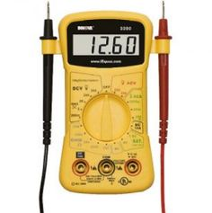 INNOVA 3300 Hands-free Digital Multimeter 10 MegOhm for sale online Electrical Tester, Electrical Components, Great Photos, Cool Pictures, Volt Ampere, Electrical Problems, Hobby Electronics, Canadian Tire, Cooking Timer
