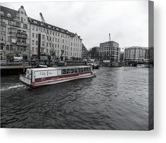 Boat Acrylic Print featuring the photograph One Boat For Tourists On The Spree River by Cuiava Laurentiu Thing 1, Acrylic Sheets, Got Print, Any Images, How To Be Outgoing, Clear Acrylic, Fine Art America, New York Skyline, Berlin