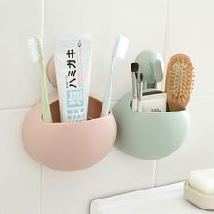 Buy Lazy Corner Wall Toothbrush Holder at YesStyle.com! Quality products at remarkable prices. FREE WORLDWIDE SHIPPING on orders over US$35.