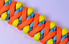 "How to make the ""Solomons Fire"" Paracord Survival Bracelet - BoredParacord"