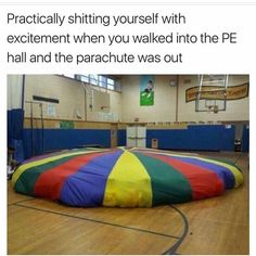 When You Saw This In Elementary School Gym You Kne. ~ Memes curates only the best funny online content. The Ultimate cure to boredom with a daily fix of haha, hehe and jaja's. Funny Relatable Memes, Funny Posts, Funny Quotes, Top Funny, Girl Quotes, Right In The Childhood, My Childhood Memories, Reality Check, The Good Old Days