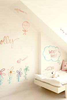 Dry Erase Paint... Doing this in the Playroom/Art Room in the basement.