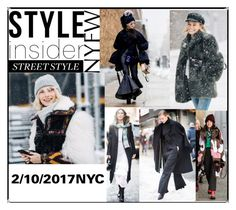 """NYFW Street Style Day 1"" by statuslusso ❤ liked on Polyvore featuring StreetStyle, NYFW and fashionWeek"