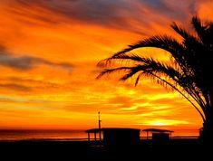 Amanecer en la Playa Nord de Gandia