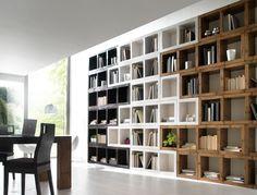 Ufficio Libreria Yenny : Libreria originale for the home bookcase wall