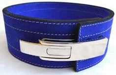 Inzer Lever Belt Blue